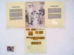 Fig. 11: Final Photo essay on family and notes.  Source: Arts-ED