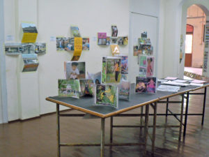 Fig. 15: Exhibition at the Balik Pulau District Office  Source: Arts-ED