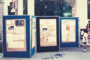 Exhibition of design process during KL Tour (1991)