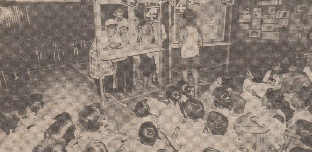 Performance of Zam Zam dan Peminjam Wang in Dewan Bahasa dan Pustaka (1991) Source: The Malay Mail