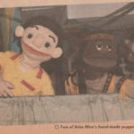 Aries Nine puppet show at the library. Source: The New Straits Times