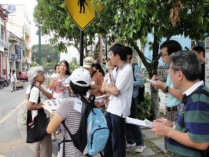 Pic: Site visit around George Town