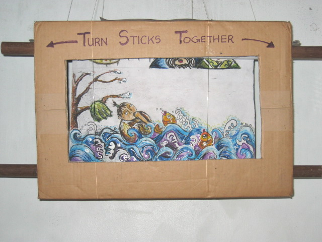 Scroll-box storytelling